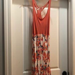 Mudd Large Maxi Dress Floral